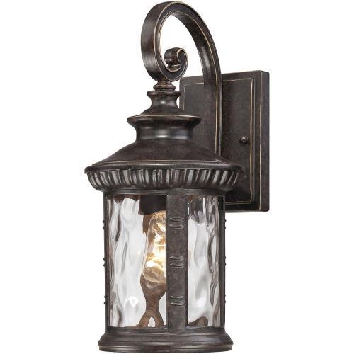 Quoizel Lighting CHI8407IB Chimera - 1 Light Outdoor Fixture