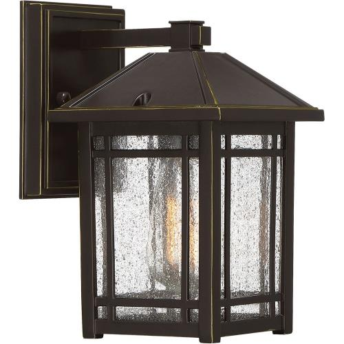 Quoizel Lighting CPT8406PN Cedar Point - 1 Light Outdoor Hanging Lantern - 9.75 Inches high