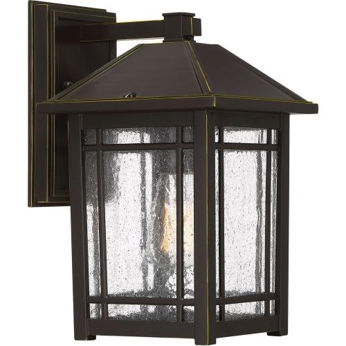 Quoizel Lighting CPT8408PN Cedar Point - 1 Light Outdoor Hanging Lantern - 13 Inches high