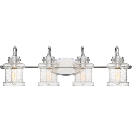 Quoizel Lighting DNY8604C Danbury 4 Light Transitional Bath Vanity - 9.75 Inches high