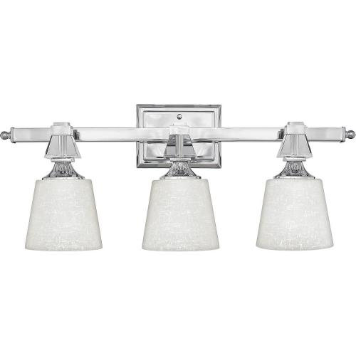 Quoizel Lighting DX8603C Deluxe - 3 Light Bath Bar - 10 Inches high