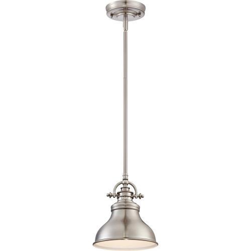 Quoizel Lighting ER1508BN Emery - 1 Light Mini Pendant