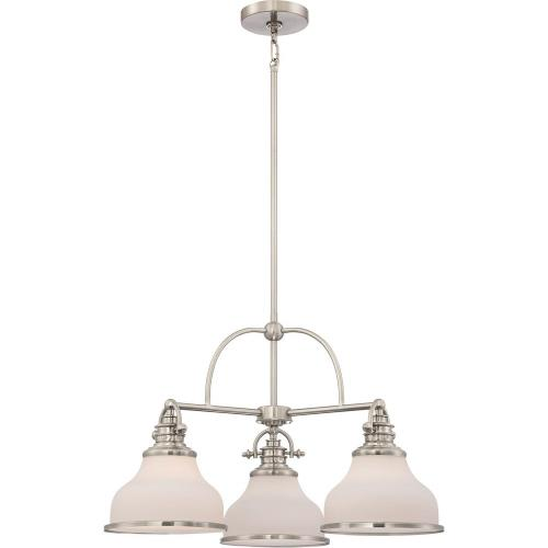 Quoizel Lighting GRT5103 Grant Chandelier 3 Light