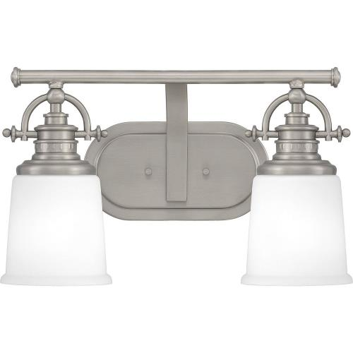 Quoizel Lighting GRT8602AN Grant 2 Light Transitional Bath Vanity - 9.5 Inches high