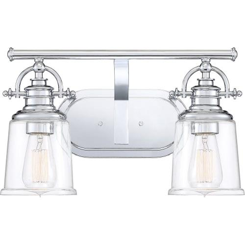 Quoizel Lighting GRT8602C Grant - 2 Light Bath Vanity