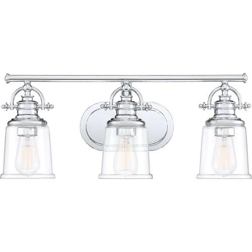 Quoizel Lighting GRT8603C Grant - 3 Light Bath Vanity