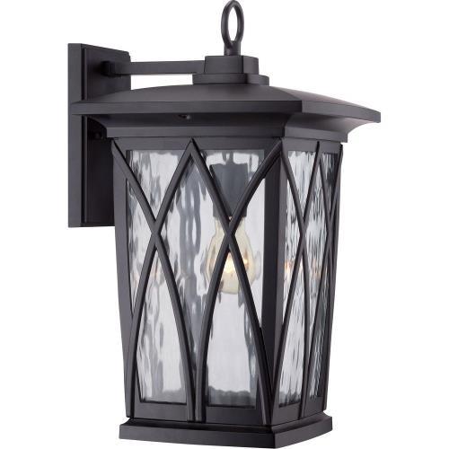 Quoizel Lighting GVR84L Grover 17.5 Inch Outdoor Wall Lantern Transitional Aluminum