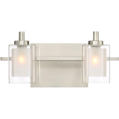 Quoizel Lighting KLT8602BNLED Kolt 2 Light Transitional Bath Vanity Approved for Damp Locations - 6 Inches high