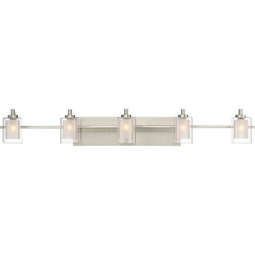Quoizel Lighting KLT8605 Kolt 5 Light Transitional Bath Vanity Approved for Damp Locations - 6 Inches high