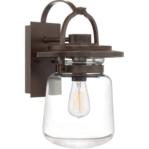 Quoizel Lighting LLE8409WT LaSalle 15.5 Inch Outdoor Wall Lantern Transitional Aluminum Approved for Wet Locations