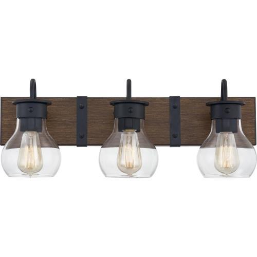 Quoizel Lighting MAV8624EK Maverick - 3 Light Bath Vanity - 9.25 Inches high