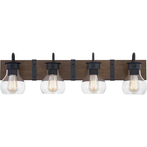 Quoizel Lighting MAV8633EK Maverick - 4 Light Bath Vanity - 9.25 Inches high