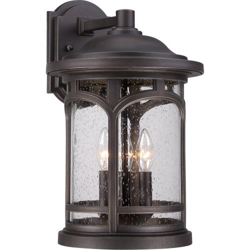 Quoizel Lighting MBH8411PN Marblehead - 3 Light Outdoor Wall Mount - 17.75 Inches high