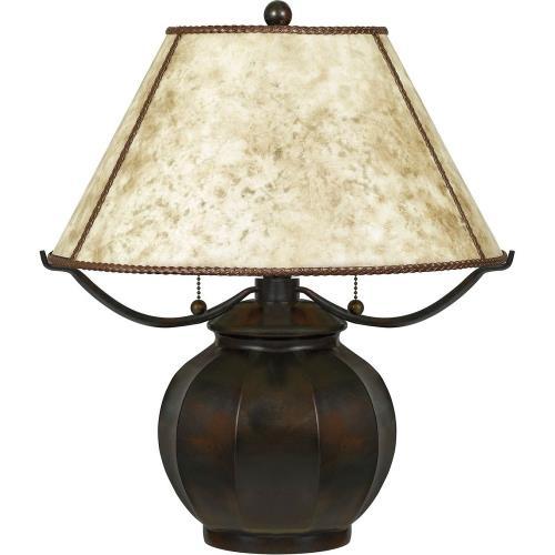 Quoizel Lighting MC5207TVA Mica - 2 Light Table Lamp
