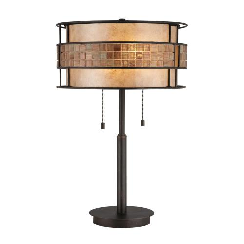 Quoizel Lighting MC842TRC Laguna - 2 Light Table Lamp