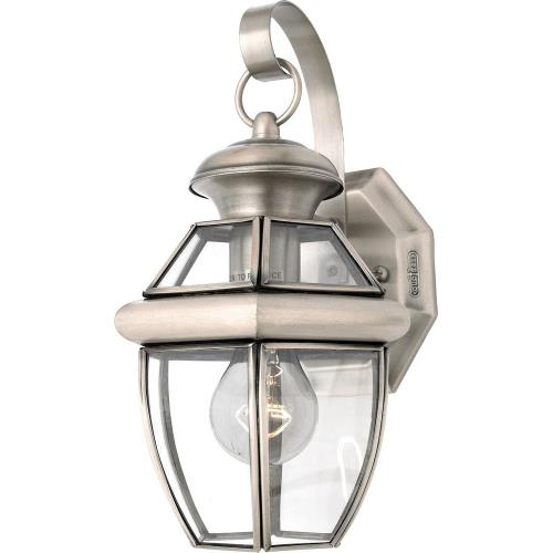 Quoizel Lighting NY8315P Newbury - 1 Light Small Wall Lantern - 11.5 Inches high