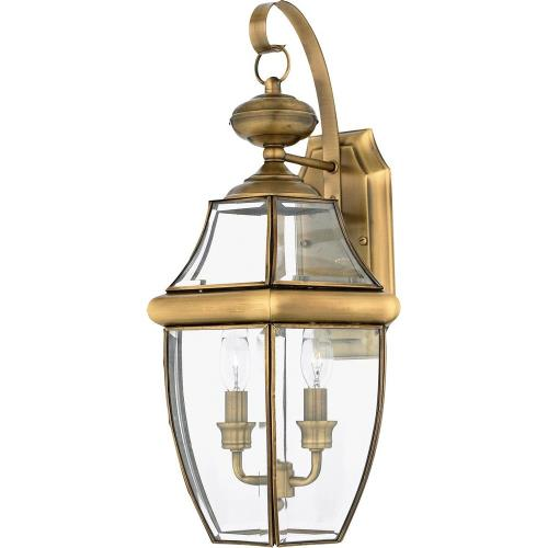 Quoizel Lighting NY8317 Newbury - 2 Light Large Wall Lantern - 20 Inches high