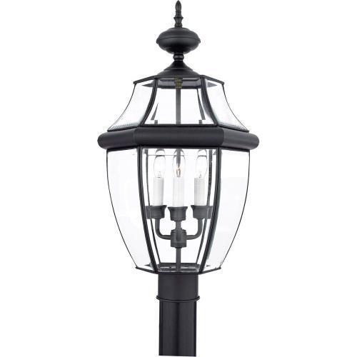 Quoizel Lighting NY9043K Newbury - 3 Light Large Post Lantern - 23 Inches high