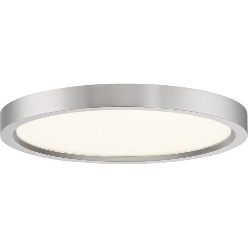 Quoizel Lighting OST1711 Outskirt - 11 Inch 15W 1 LED Flush Mount