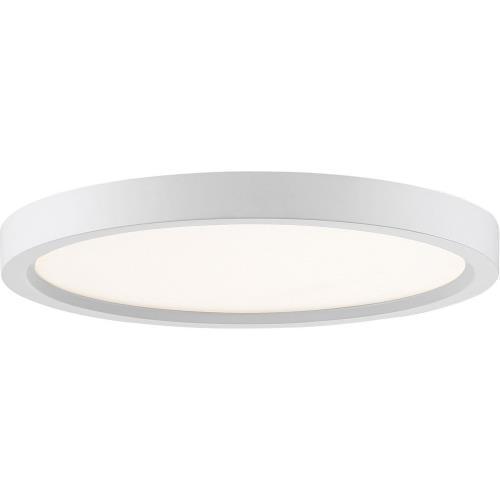 Quoizel Lighting OST1711 Outskirt - 15W 1 LED Flush Mount - 1 Inch high