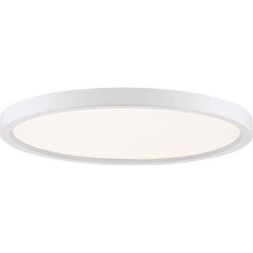 Quoizel Lighting OST1715 Outskirt - 30W 1 LED Flush Mount - 1 Inch high