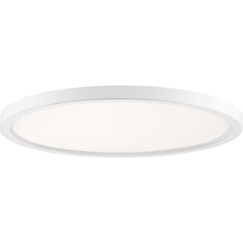 Quoizel Lighting OST1720 Outskirt - 30W 1 LED Flush Mount - 1 Inch high