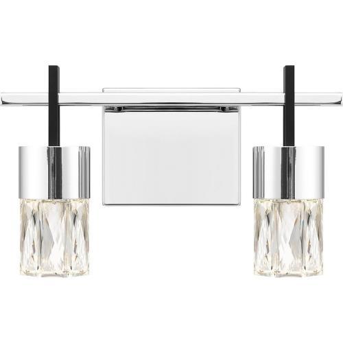 Quoizel Lighting PCADA8613C Adena - 12W LED Bath Vanity - 8 Inches high