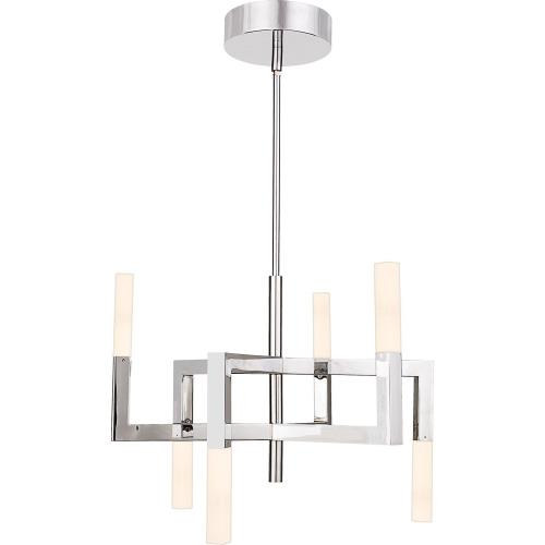 Quoizel Lighting PCEV5006C Platinum Collection Elevation - 18.9 Inch 15W 1 LED Chandelier
