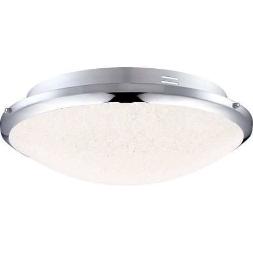 Quoizel Lighting PCGR1615C Glimmer - 13 Inch 15W 1 LED Flush Mount