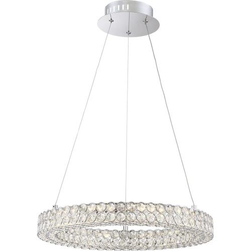 "Quoizel Lighting PCIN1820C Platinum Infinity - 20"" 24W 1 LED Large Pendant"
