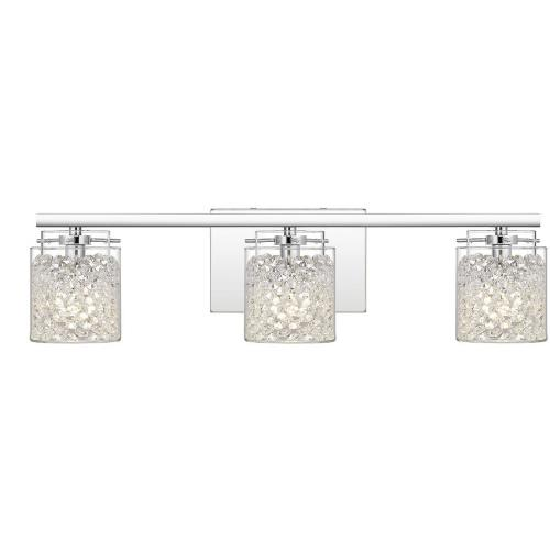 Quoizel Lighting PCPU8623C Purcell 3 Light Transitional Bath Vanity - 5.75 Inches high