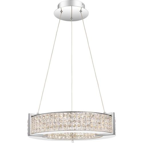 Quoizel Lighting PCVU2819C Virtue - 19 Inch 29W 1 LED Pendant