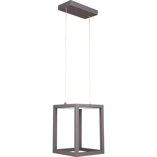 Quoizel Lighting PCZN1508CHR Platinum Collection Zone - 11 Inch 10W 1 LED Mini Pendant