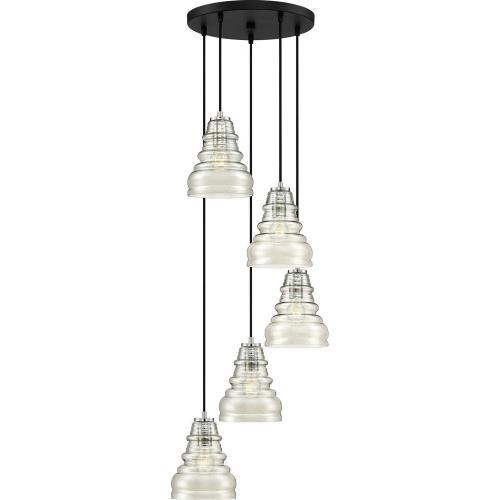 Quoizel Lighting PPY2705EK Prophecy - 5 Light Pendant - 9 Inches high