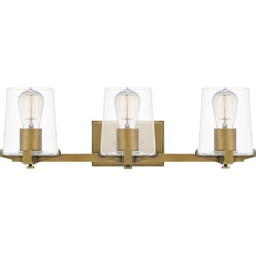 Quoizel Lighting PRY8624 Perry - 3 Light Bath Vanity - 7.5 Inches high