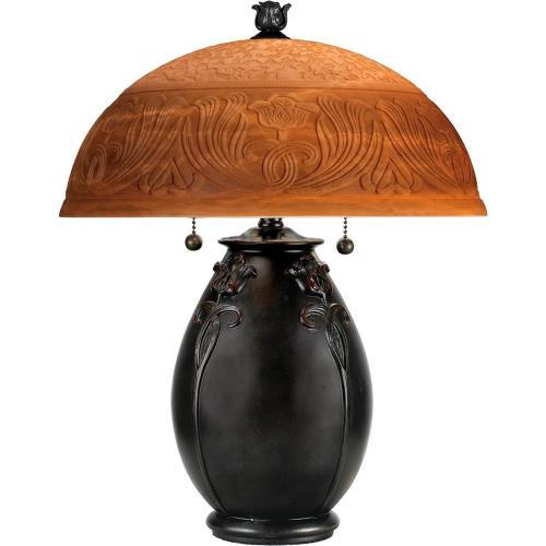 Quoizel Lighting QJ6781TR Glenhaven - 2 Light Table Lamp