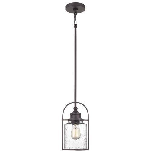 Quoizel Lighting QPP2781WT Payson - 12 Inch 1 Light Mini Pendant