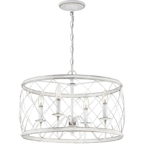 Quoizel Lighting RDY2821AWH Dury Pendant 1 Light - 14.5 Inches high