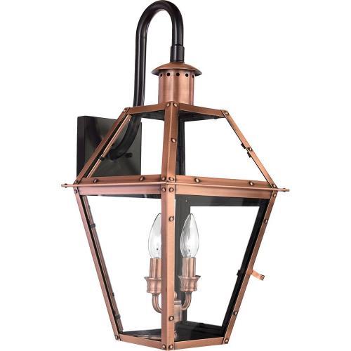 Quoizel Lighting RO8411AC Rue De Royal - 2 Light Wall Lantern - 22.5 Inches high