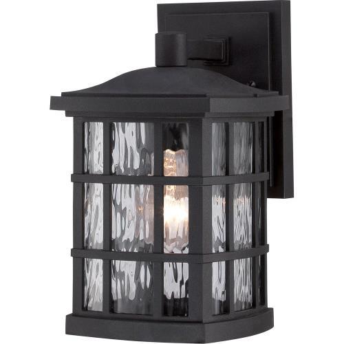 Quoizel Lighting SNN8406K Stonington - 1 Light Outdoor Wall Mount - 10.5 Inches high