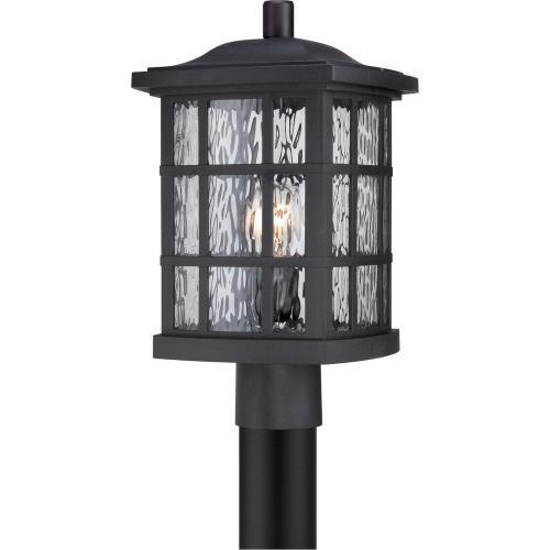 Quoizel Lighting SNN9009K Stonington - 1 Light Outdoor Post Lantern - 16.5 Inches high