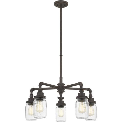 Quoizel Lighting SQR3526RK Squire - 5 Light Chandelier