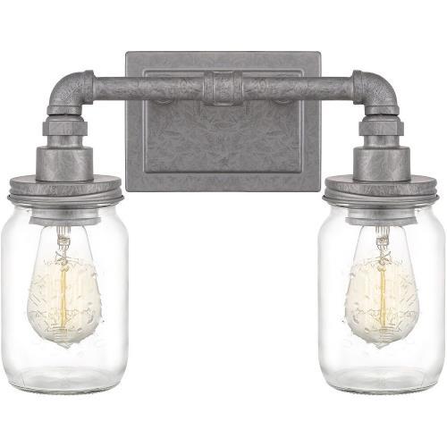 Quoizel Lighting SQR8602GV Squire 2 Light Transitional Bath Vanity