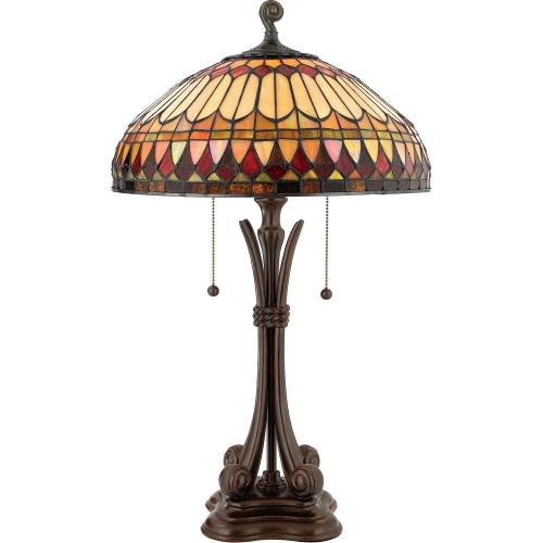 Quoizel Lighting TF6660BB West End - 2 Light Table Lamp