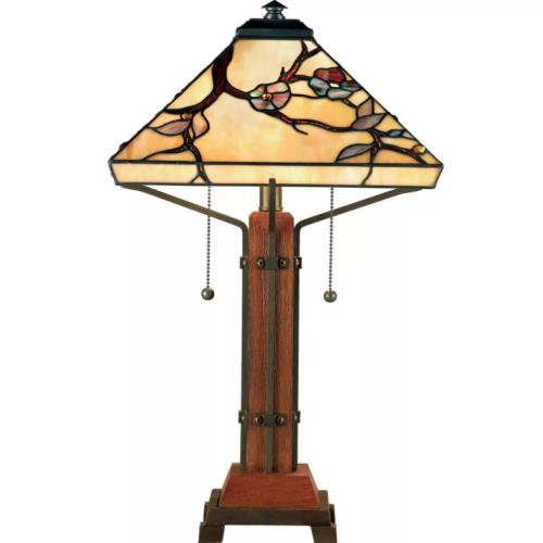 Quoizel Lighting TF6898M Grove Park - 2 Light Table Lamp