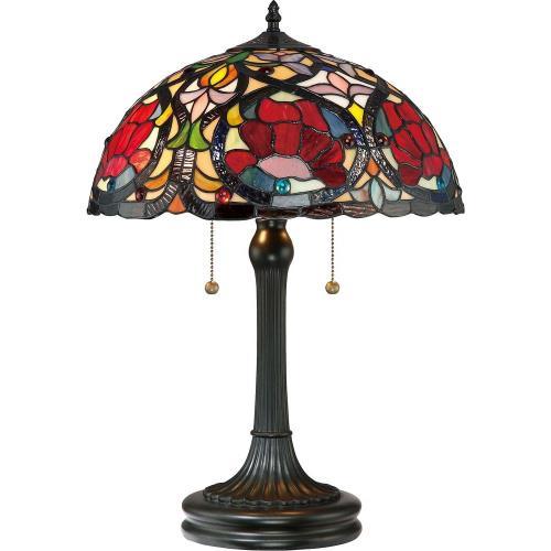 Quoizel Lighting TF879T Larissa - 2 Light Table Lamp