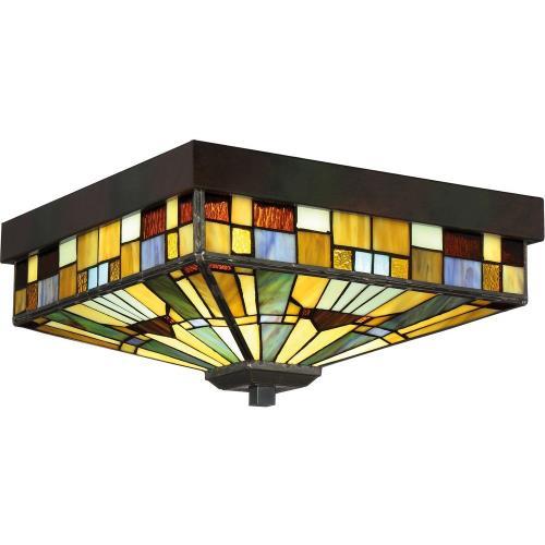 Quoizel Lighting TFIK1614VA Inglenook - 3 Light Flush Mount
