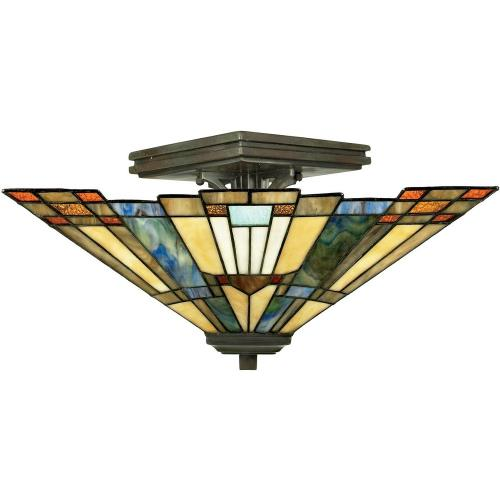Quoizel Lighting TFIK1714VA Inglenook - 2 Light Small Semi Flush Mount