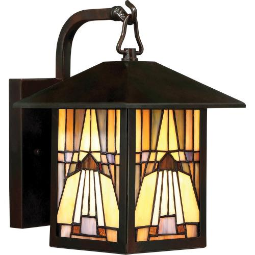 Quoizel Lighting TFIK8407VA Inglenook - 100W 1 Light Outdoor Small Wall Lantern - 10.5 Inches high