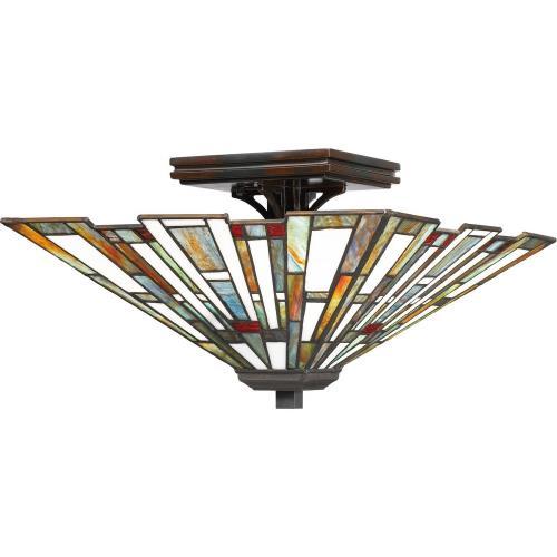 Quoizel Lighting TFMK1714VA Maybeck - 2 Light Flush Mount